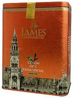 """Чай чёрный листовой James Grandfather """"OP1"""", 150 гр. ж/б."""