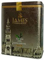 """Чай чёрный листовой James Grandfather Special """"OPA"""", 150 гр. ж/б."""