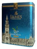 """Чай чёрный листовой James Grandfather """"BOP1"""", 200 гр. ж/б."""