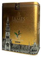 """Чай чёрный листовой James Grandfather special """"FBOP"""", 200 гр. ж/б."""