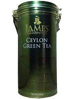 """Чай зелёный листовой James Grandfather """"GPI"""", 300 гр. ж/б."""