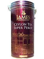 """Чай чёрный листовой James Grandfather """"Pekoe"""", 350 гр. ж/б."""
