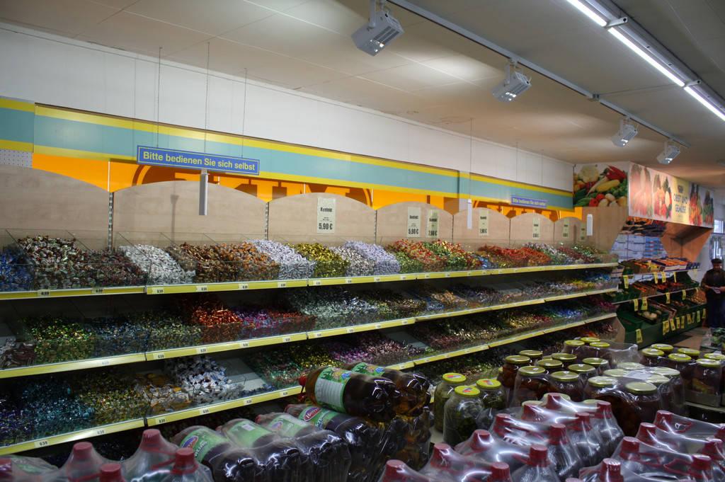 Светодиодные решения для продуктовых магазинов