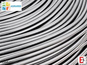 Кембрик - агрошнурок, агротрубка Аграріо - Agrario 5 мм, 5 кг, ПВХ чорний, фото 3