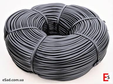 Кембрик - агрошнурок, агротрубка Аграрио - Agrario 7 мм, 5 кг, ПВХ черный