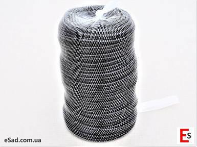 Кембрик - агрошнурок, агротрубка Аграрио - Agrario 6 мм, 1 кг, ПВХ черный