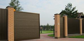 Алюминиевые ворота ADS 400 Alutech