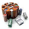 Покерный набор (200 фишек,2 колоды)
