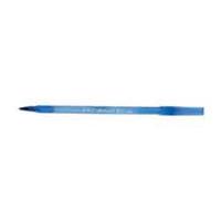 Ручка кулькова Bic Round Stic 0,4 мм, синя