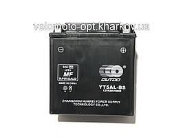 Аккумулятор мото Outdo YT5AL-BS 12V5Ah/10HR кислотный высокий