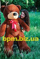Тедди 140 см. Шоколадный, медвежонок Тедди