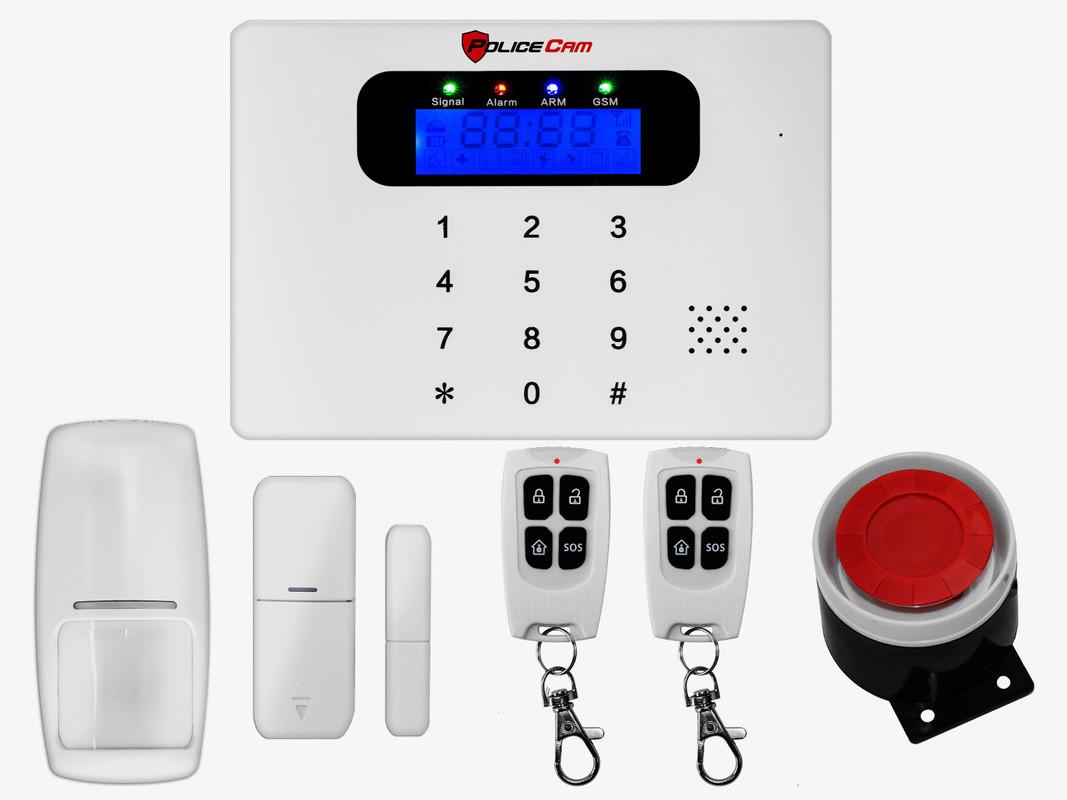 Комплект беспроводной GSM сигнализации PoliceCam GSM 30С Base