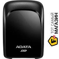 ADATA Портативный SSD USB 3.2 Gen 2 Type-C ADATA SC680 1.92TB (ASC680-1T92U32G2-CBK) usb type-c