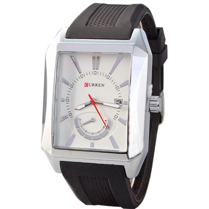 Годинники чоловічі Curren Oxford Silver-white