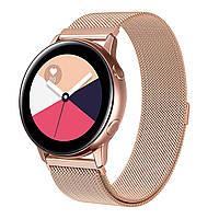 Ремешок BeWatch для смарт-часов Samsung Galaxy Watch Active Rose Gold (1010238)