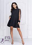 """Платье с прозрачными рукавами """"Муза""""  Распродажа модели, фото 7"""
