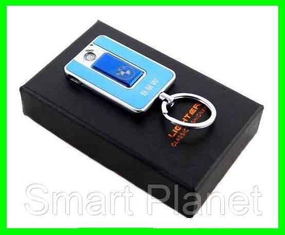 Электрическая USB Зажигалка 2 в 1 (брелок - зажигалка)
