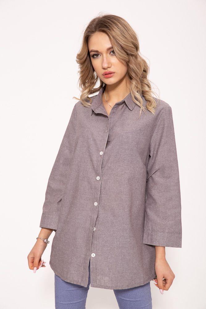 Рубашка женская 115R2901 цвет Мокко