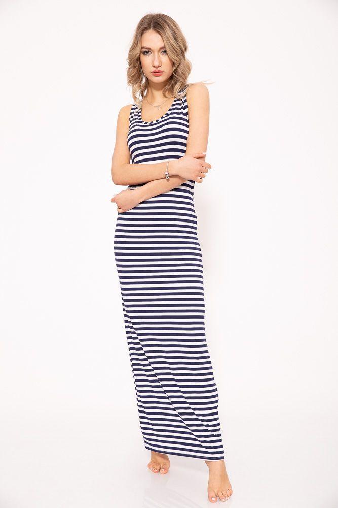 Платье 104R232S цвет Сине-белый