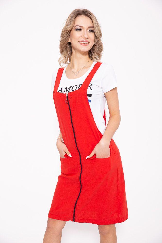 Сарафан 103R080 цвет Красный