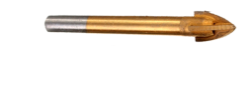 Сверло для плитки и стекла, крест (титан) 12 мм, фото 2