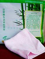 Салфетка из бамбукового волокна тонкая 25х25 см - 2 штуки