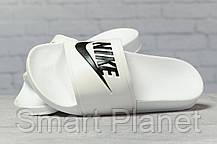 Шлепанцы женские 17351, Nike, белые, < 36 37 38 39 40 > р. 38-24,0см., фото 3
