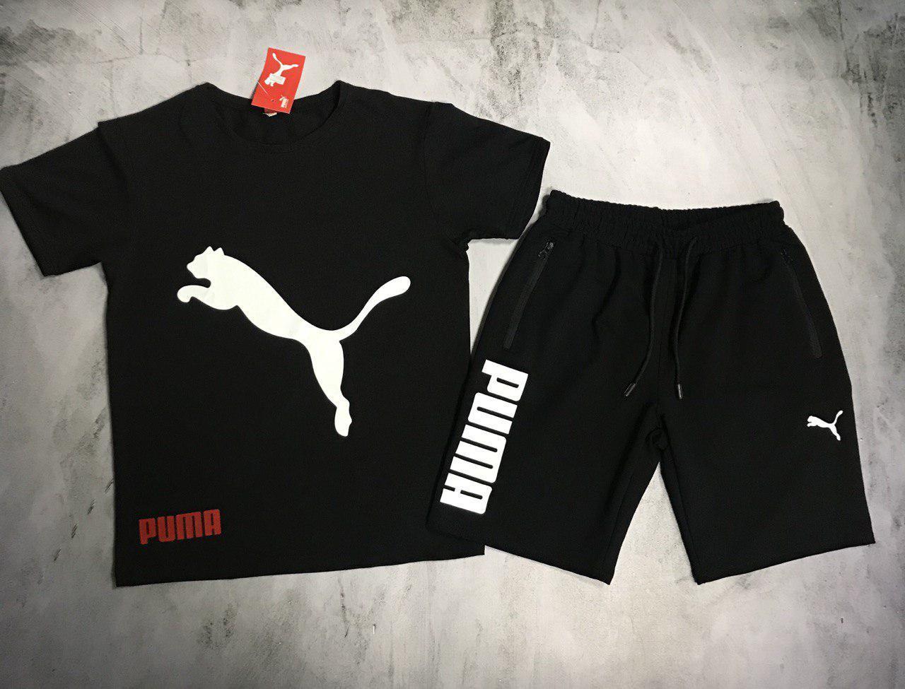 Мужской спортивный костюм (футболка и шорты) Puma Refusal