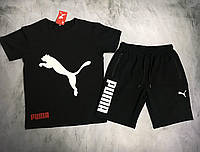 Мужской спортивный костюм (футболка и шорты) Puma Refusal, фото 1