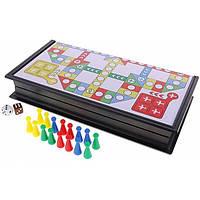 MonkeyJack Складная доска с кубиками для семейной вечеринки (для 2 ~ 4 игроков) шахматный набор