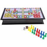 MonkeyJack Складана дошка з кубиками для сімейної вечірки (для 2 ~ 4 гравців) шаховий набір, фото 3