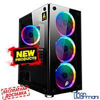 Игровой компьютер Дон Кармани NG i3-10100 S1 (i3-10100/DDR4-8Gb/SSD- 120Gb/HDD-1Tb/GTX1050Ti)