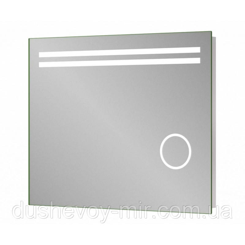Зеркало в ванную с подсветкой SANWERK LAVA ДЕЛЛА 800x650