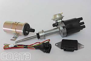Безконтактне електронне запалювання (БСЗ) ВАЗ 2103, 2106 СОАТЕ (комплект: трамблер, котушка, комутатор)