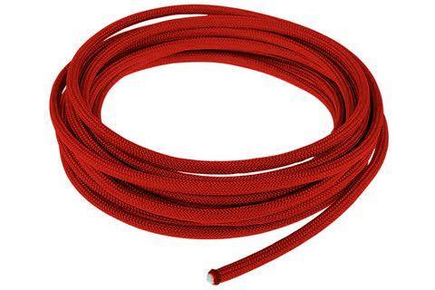 Провід шнур-силикон для декоративних світильників червоний (ціна за бухту 13,5м) TM LUMANO