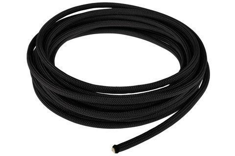 Провід шнур-силикон для декоративних світильників чорний (ціна за бухту 13,5м) TM LUMANO