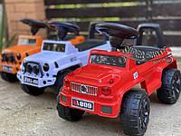 Детский толокар - машинка толокар джип Красная
