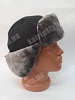 Мужская зимняя шапка-ушанка
