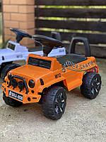 Машинка каталка джип - Машинка толокар для ребенка Оранжевый