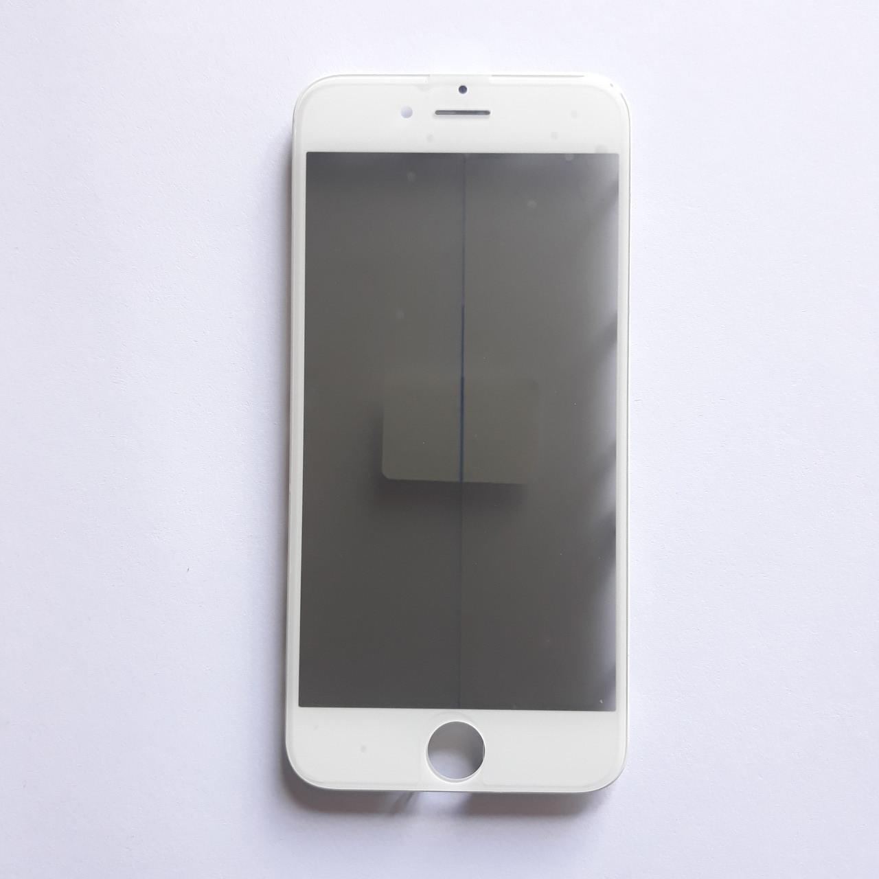 Стекло корпуса Novacel для Apple iPhone 6S с рамкой OCA пленкой поляризационной пленкой White