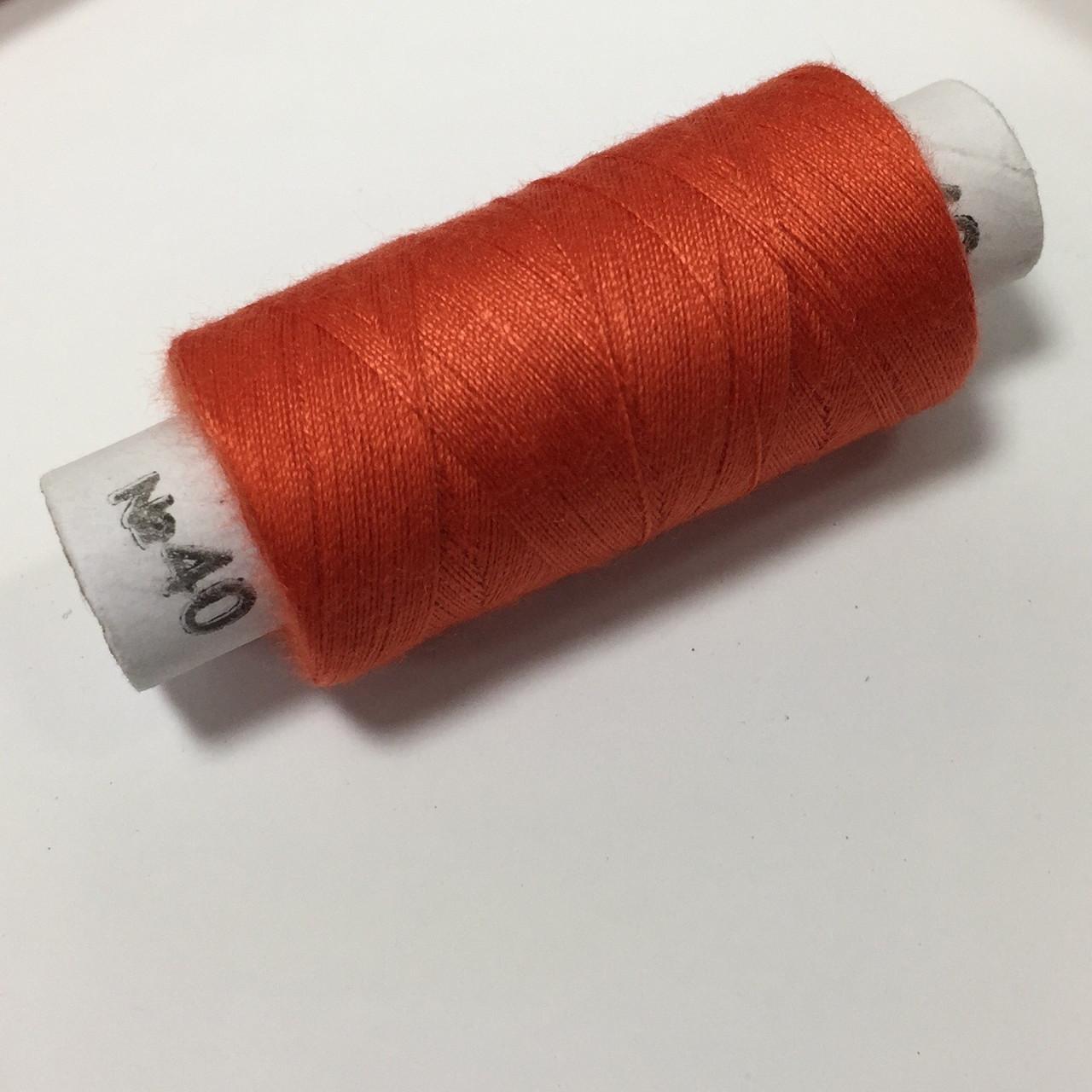 Нитки швейные 40/2 цв.819 красный яркий