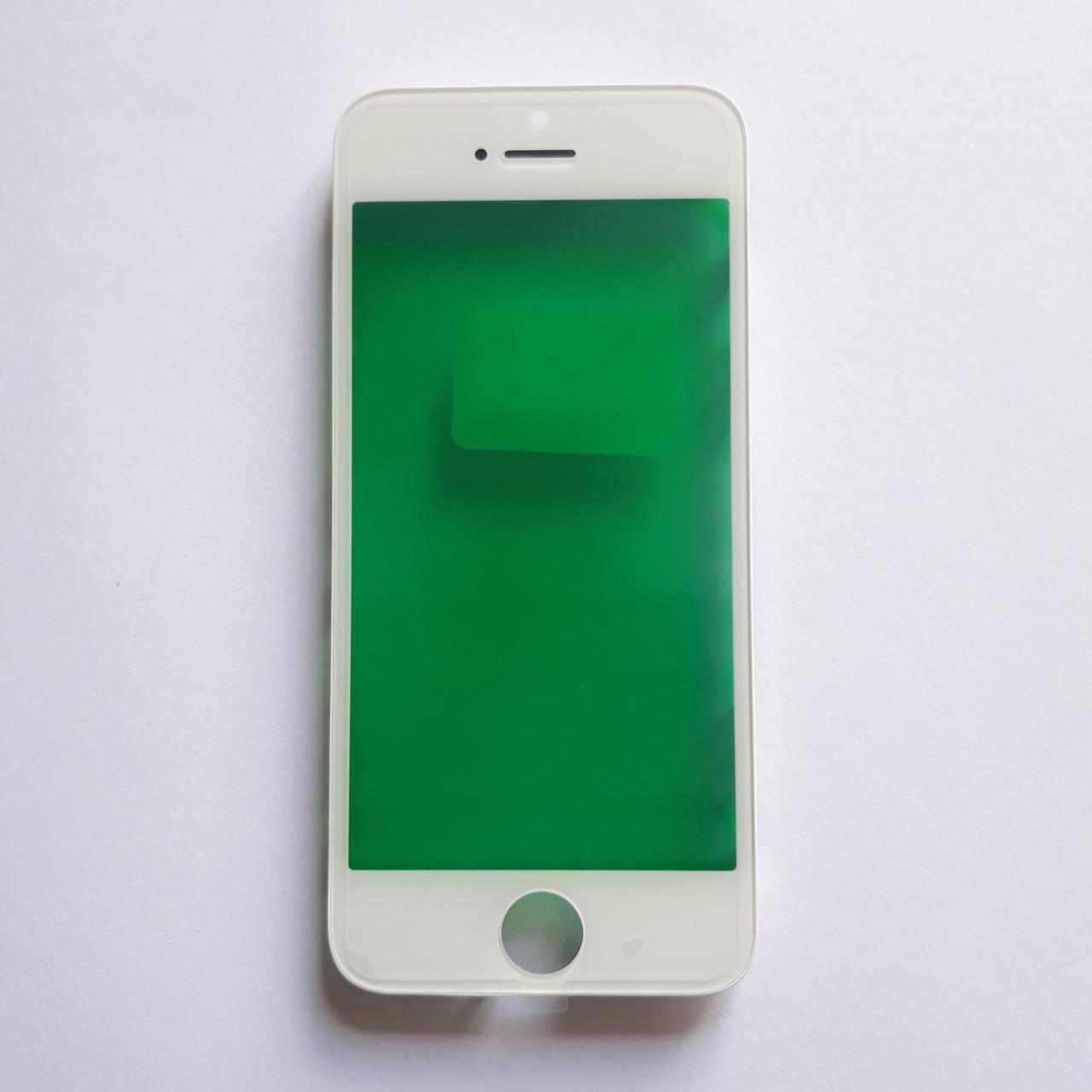 Скло корпусу Novacel для Apple iPhone 5S з рамкою White