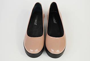 Туфли женские пудра Estamod 142, фото 3