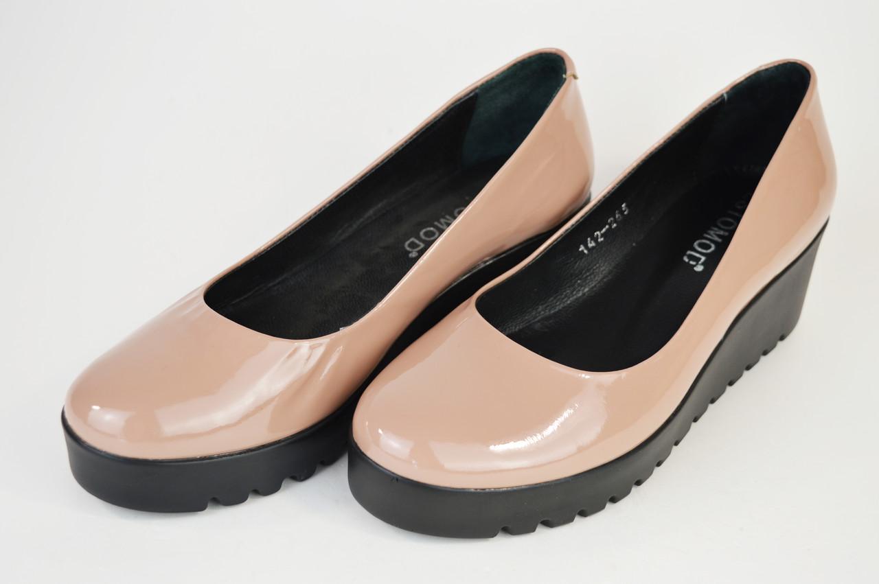 Туфли женские пудра Estamod 142