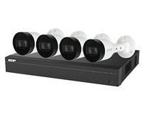 Комплект відеоспостережиння Dahua EZIP-KIT/NVR1B04HC-4P/E/4-B1B20