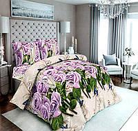 Набор постельного белья сатин №с186 Полуторный, фото 1