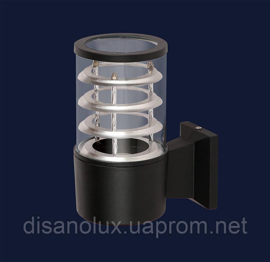 Светильник  фасадний  923LYH6601 BK E27  IP54 черный