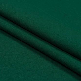 Ткань трикотажная Футер Петля. Темно зеленый. Купить оптом в Украине, от рулона, фото 2
