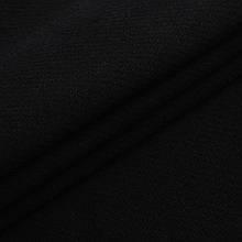 Ткань трикотажная Футер Петля. Черный. Купить оптом в Украине, от рулона