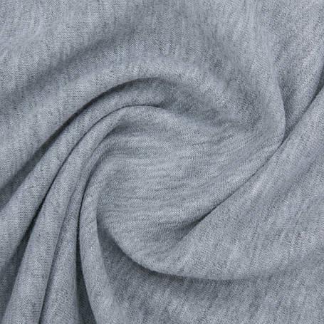 Ткань трикотажная Футер Петля. Серый. Купить оптом в Украине, от рулона, фото 2